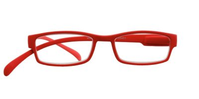 Klammeraffe Lesebrille No 01 bright red