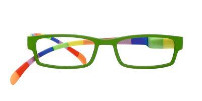 Klammeraffen Brille #08 farbenfroh green